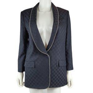 New Alexander Wang Bead Embellished Suit Jacket